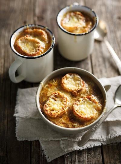 Zuppa di cipolle gratinée | Francia