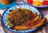 Nazkhatoune | Salsa di melanzane in agrodolce di melograno | Iran