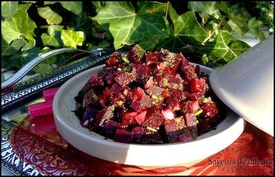 Salade de betterave à l'andalous | Insalata di barbabietola all'andalusa | Marocco