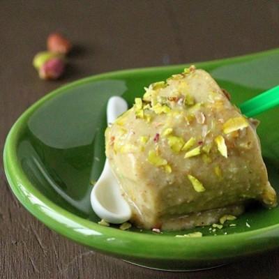 Pista Kulfi | Gelato indiano al pistacchio e cardamomo