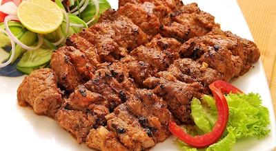 Murgh seek kebab   Kebab di spiedini di pollo al garam masala   India