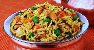 Vegetable biryani | India