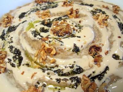 Kashk-e bademjan | Purée di melanzane alle noci, yogurt e menta | Iran