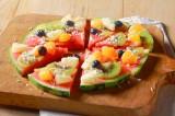 Macedonia de fruits tropicaux | Macedonia esotica al trancio d'anguria | Marocco