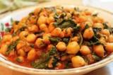 Nivik | Insalata di ceci e spinaci lessi